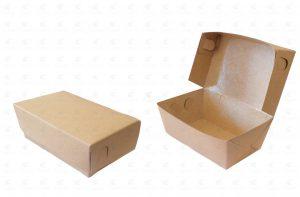 Đa dạng kiểu dáng hộp giấy đựng thức ăn