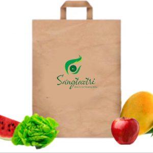 In túi giấy đựng hoa quả trái cây hcm